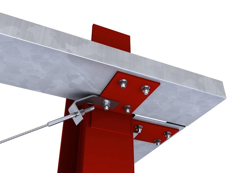 steel c sections - mezzanine flooring parts