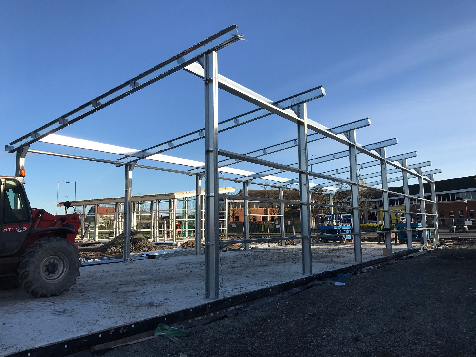 light guage steel buildings